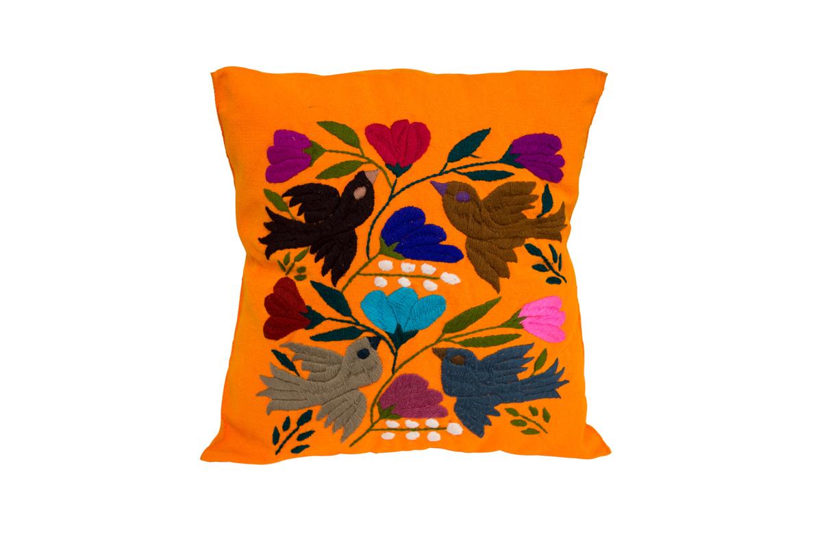 Otomi Hummingbirds Cushion