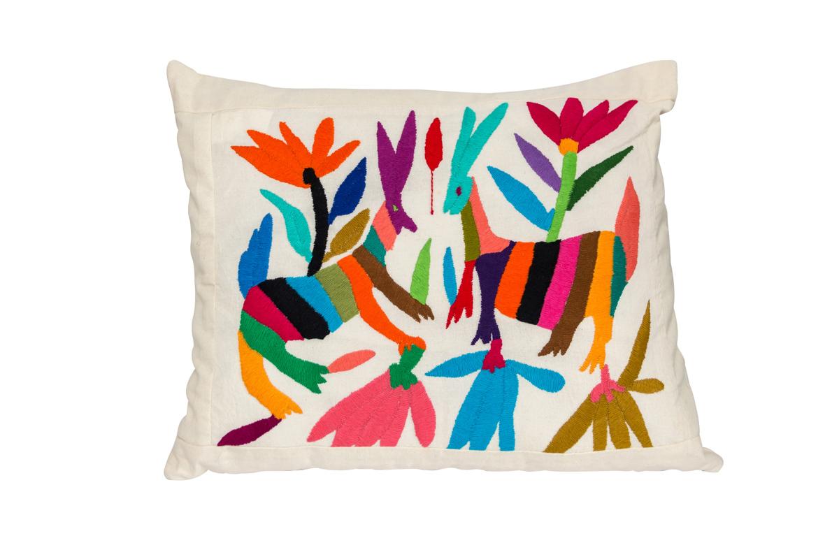 Otomi Rabbit Cushion