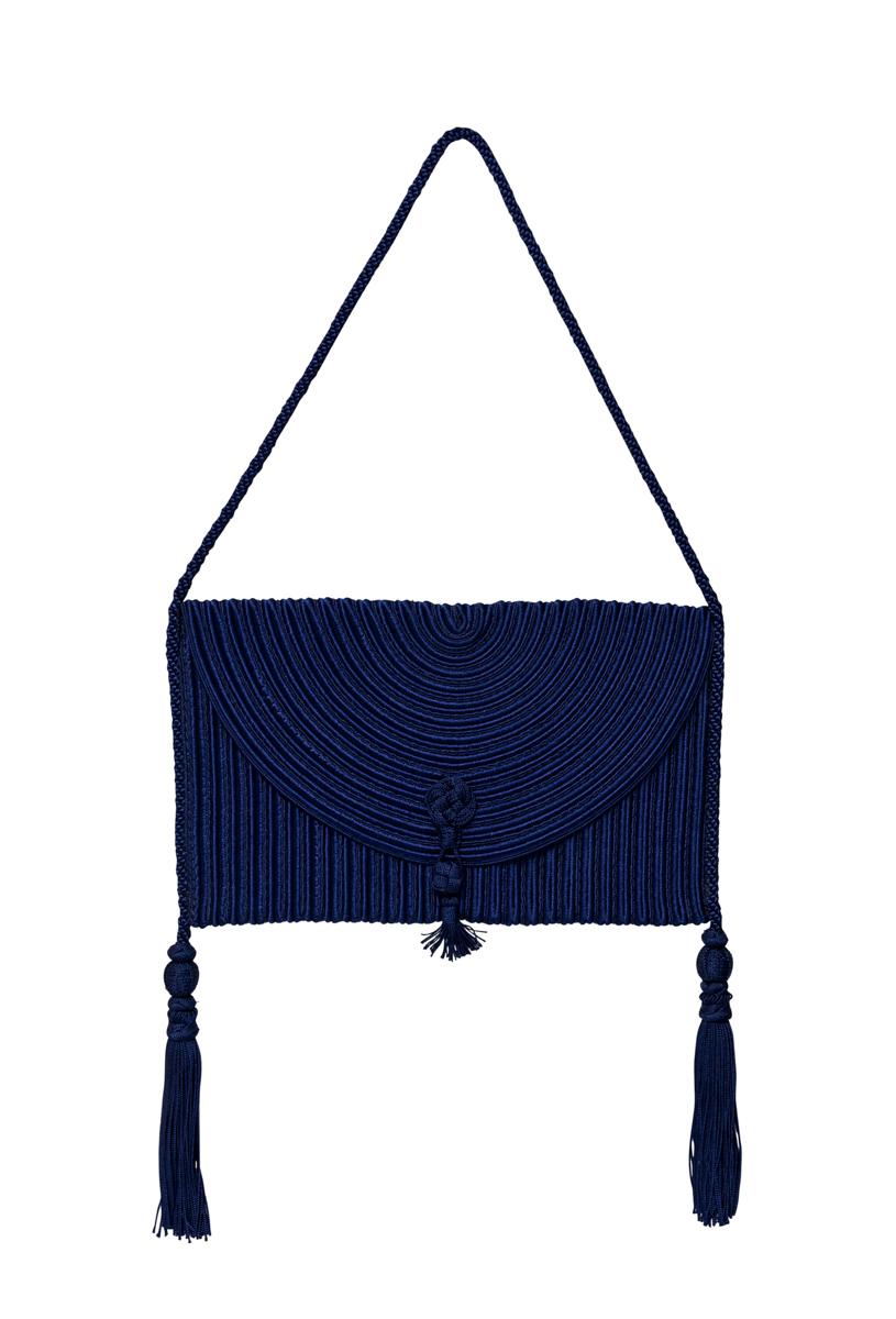 Purple Silk Thread Bag