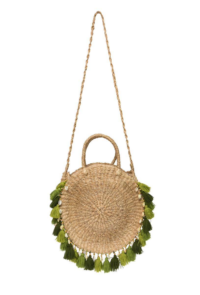 Natural ticao abaca handbag