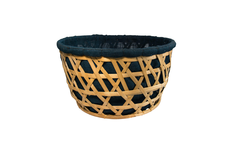 Canasto redondo de  bamboo