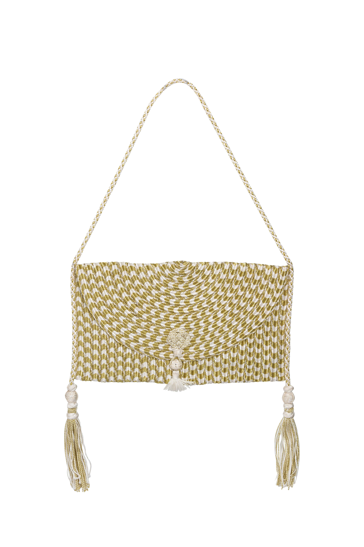 Golden Silk Thread Bag