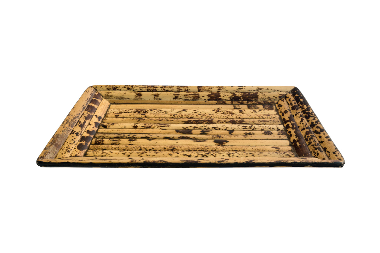 Large bamboo tray