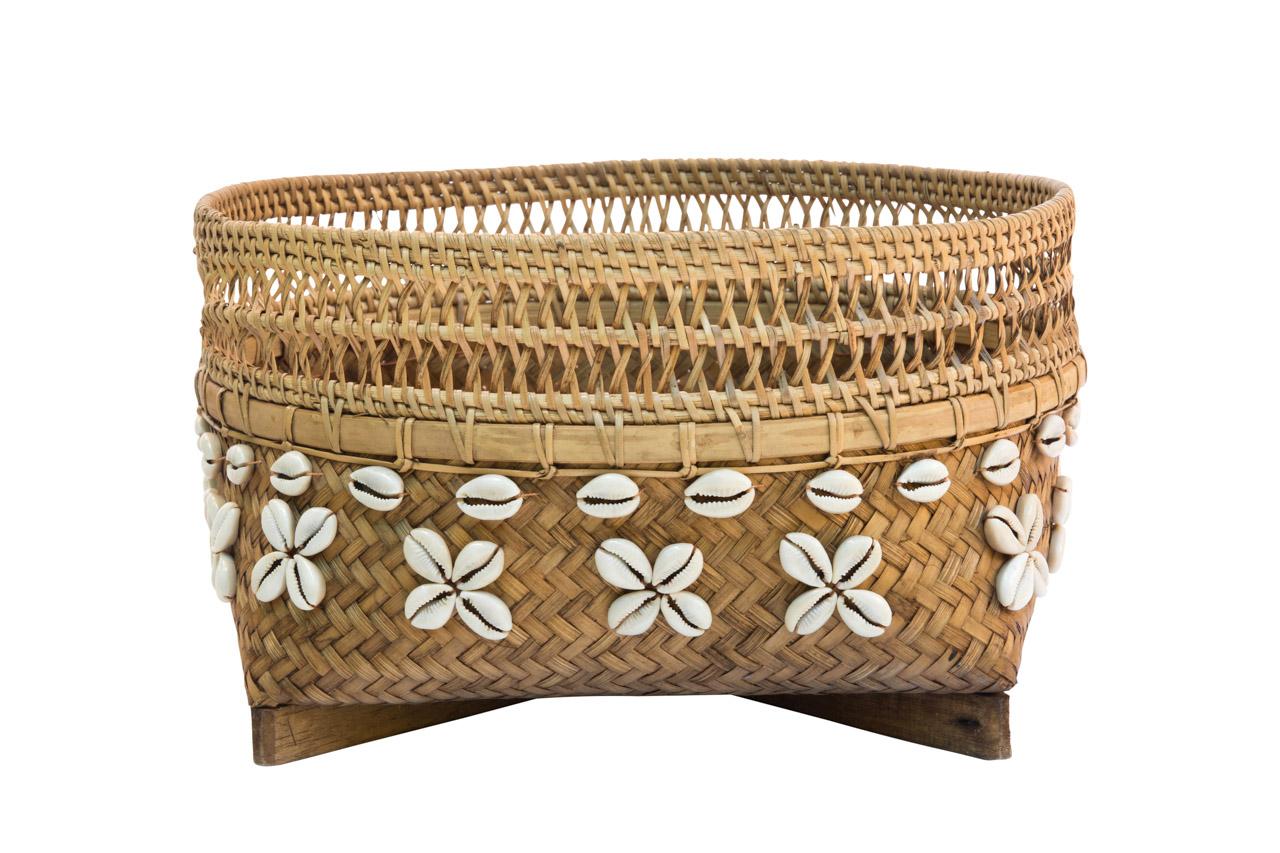 Canasto Bamboo 32 Cms