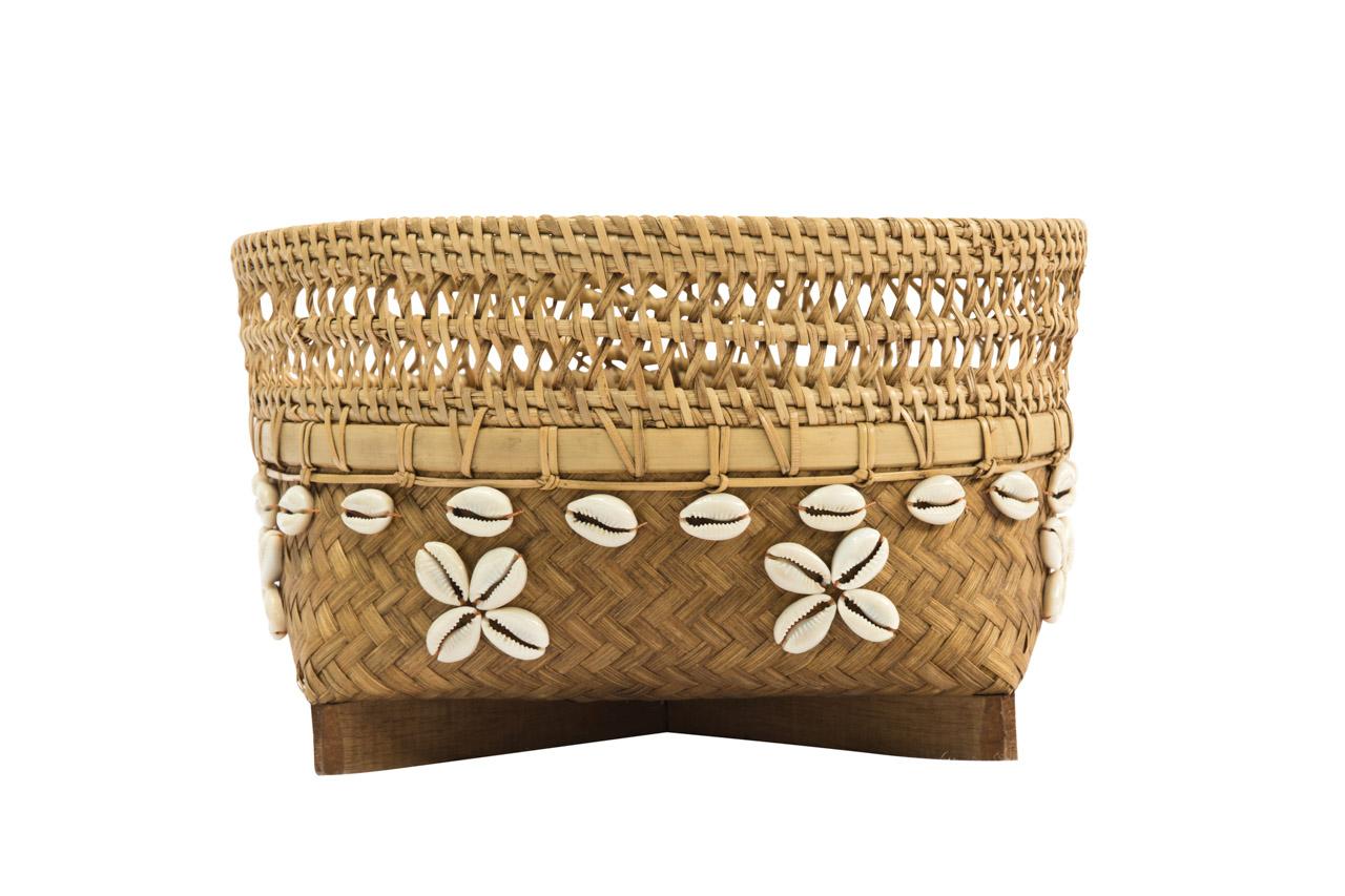 Canasto Bamboo 26 Cms