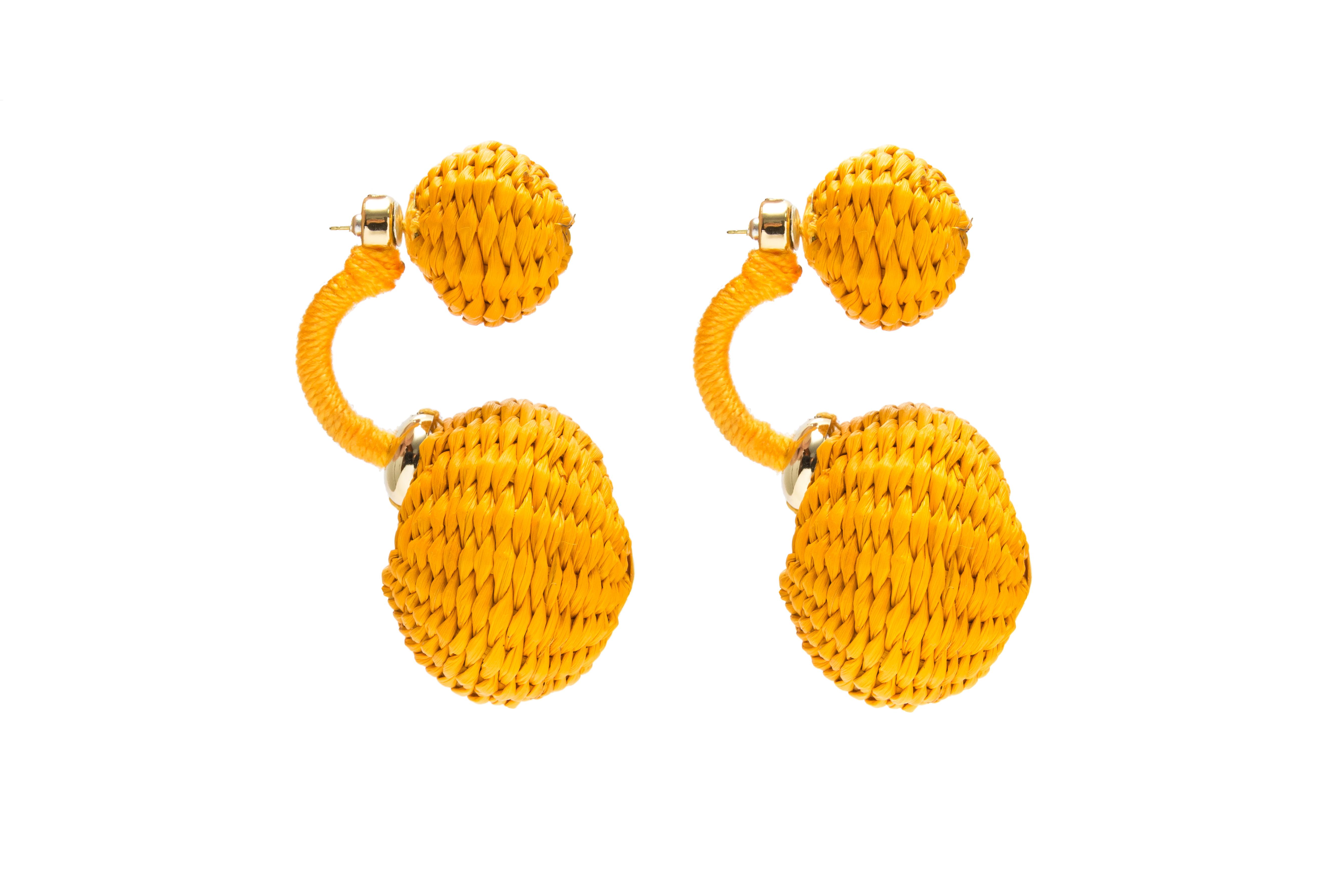 Arete Ensueño- amarillo