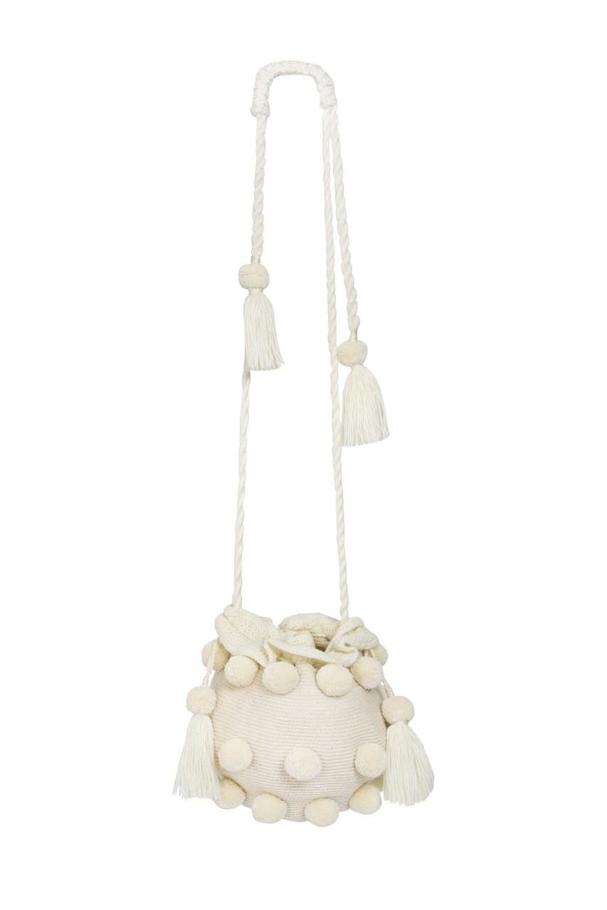 Backpack La Guapa XL white