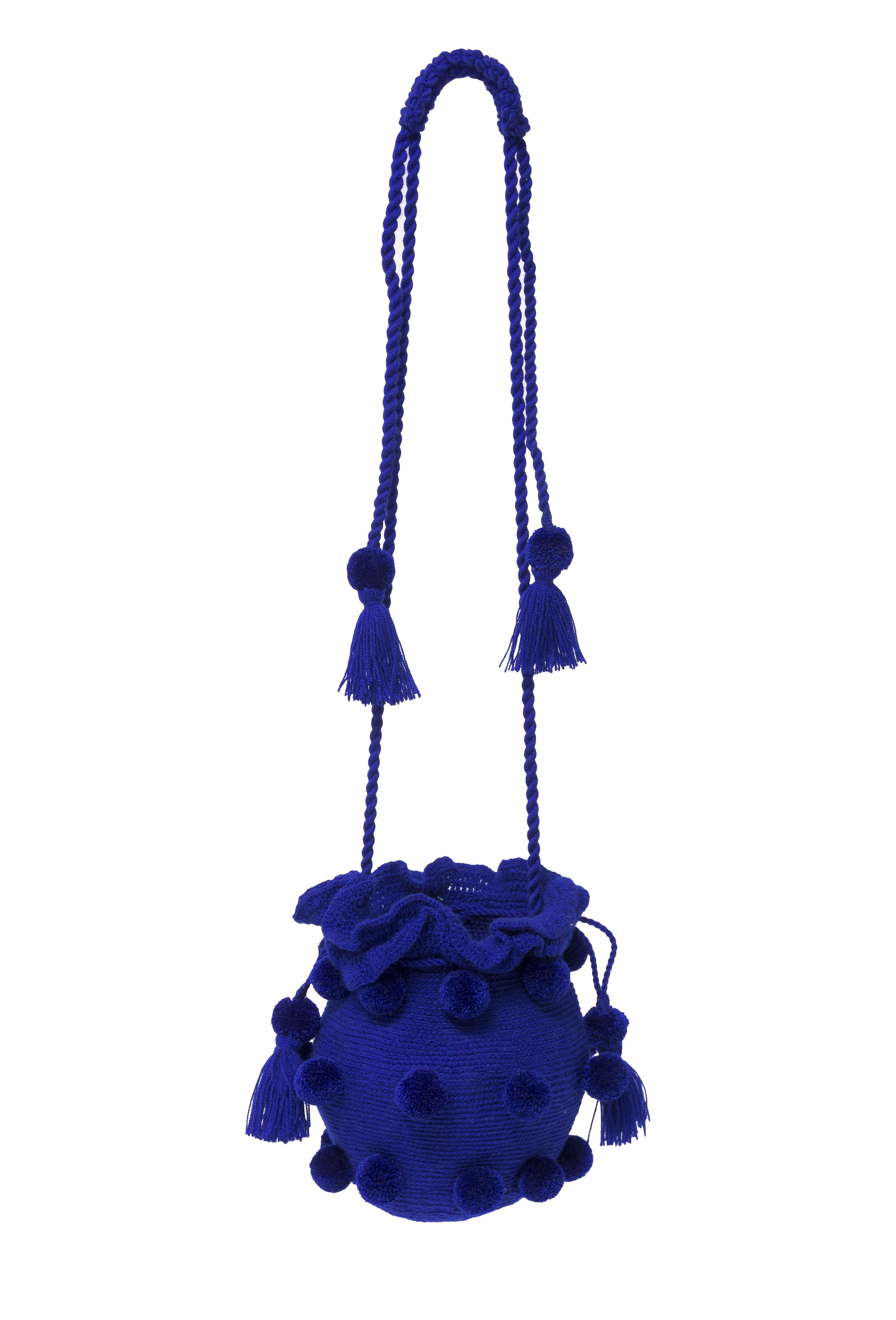 Mochila La guapa xl- azul rey