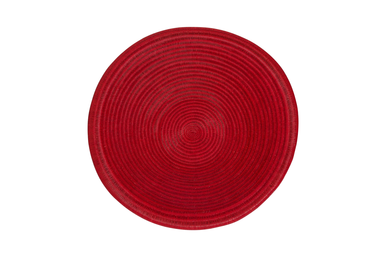 Plato de werregue rojo