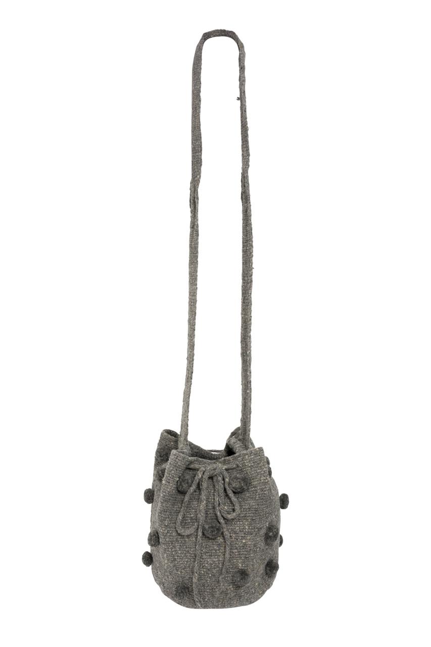 Misak Mochila Handbag, Light Grey