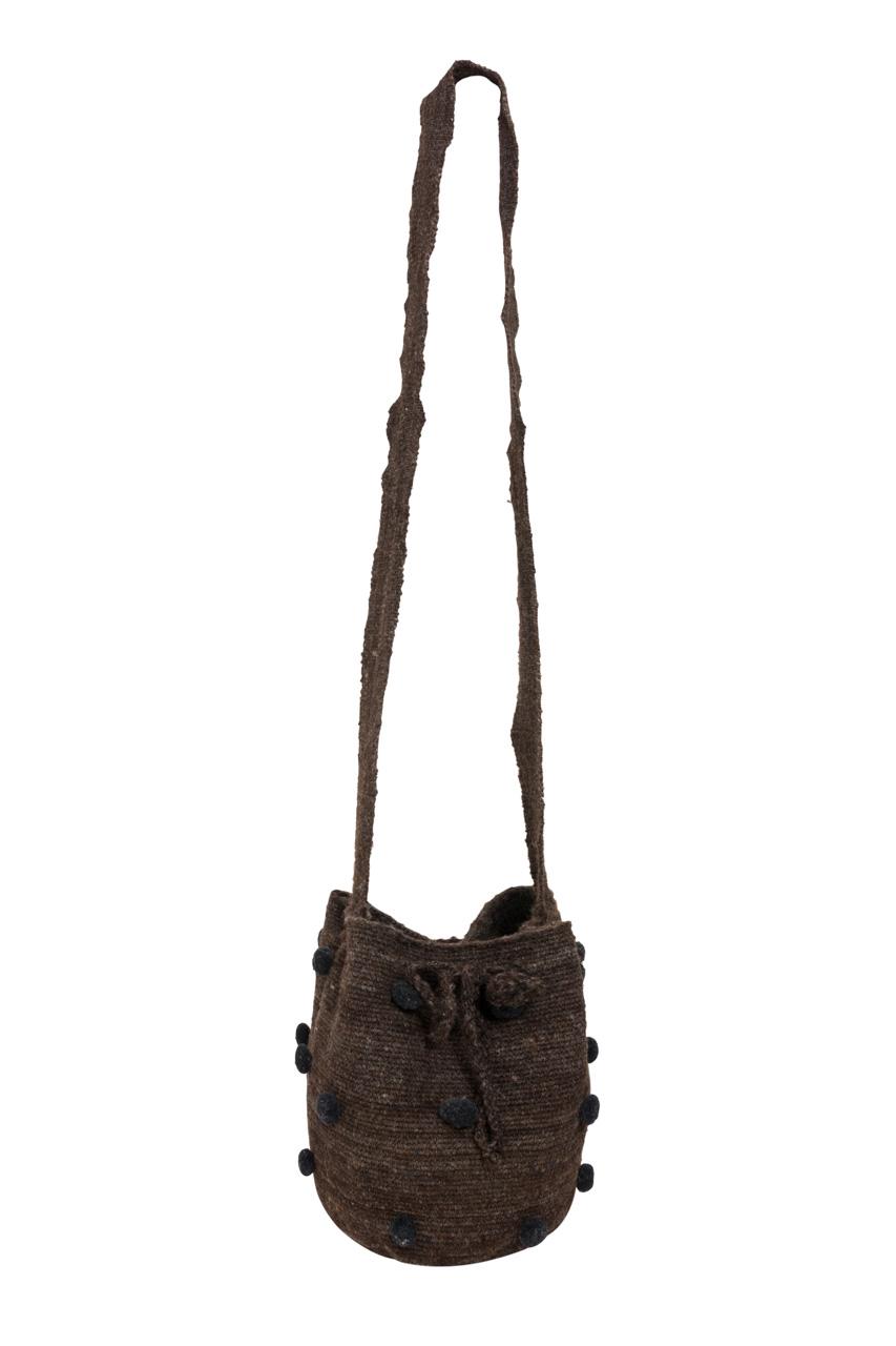 Misak Mochila Handbag, Dark Grey