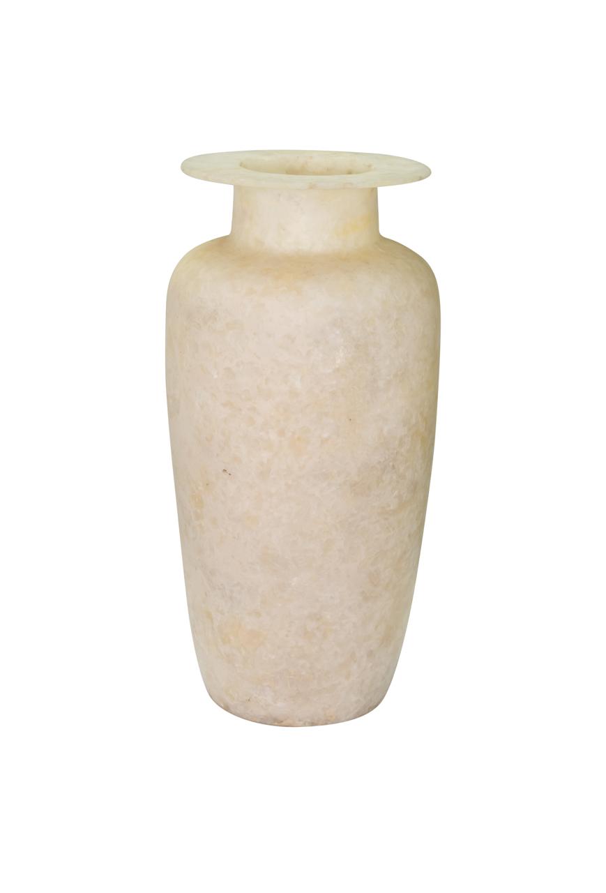 Jarrón de alabastro Egipcio, 50 Cm