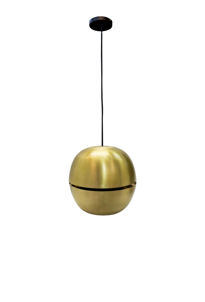 Lámpara de colgar Nussen en cobre