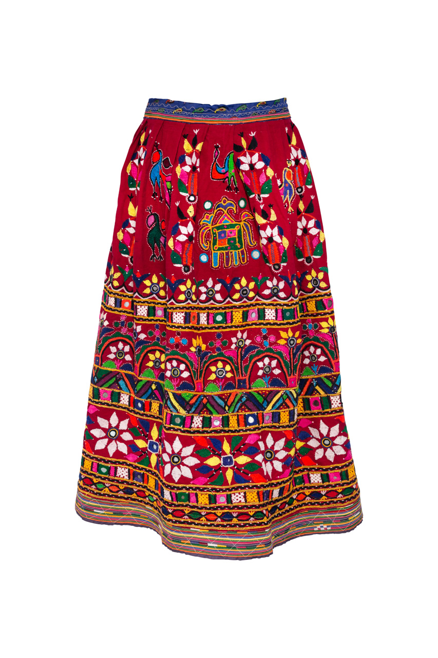 Indian Embroidered Skirt