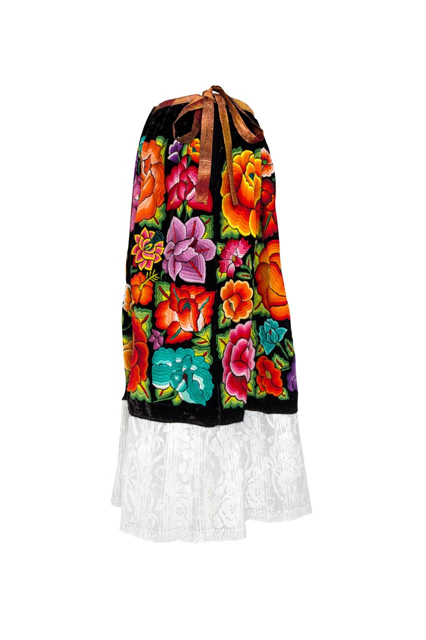 Oaxaca Multicolor Skirt