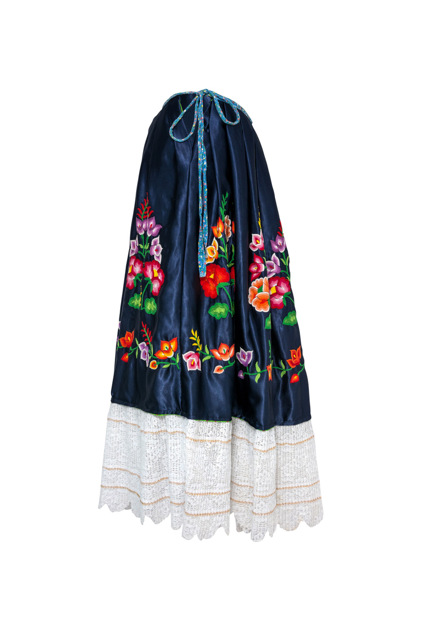 Oaxaca Blue Skirt