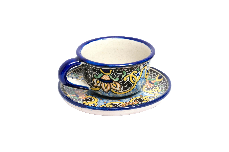 Vajilla en cerámica Uriarte Talavera Reina Victoria