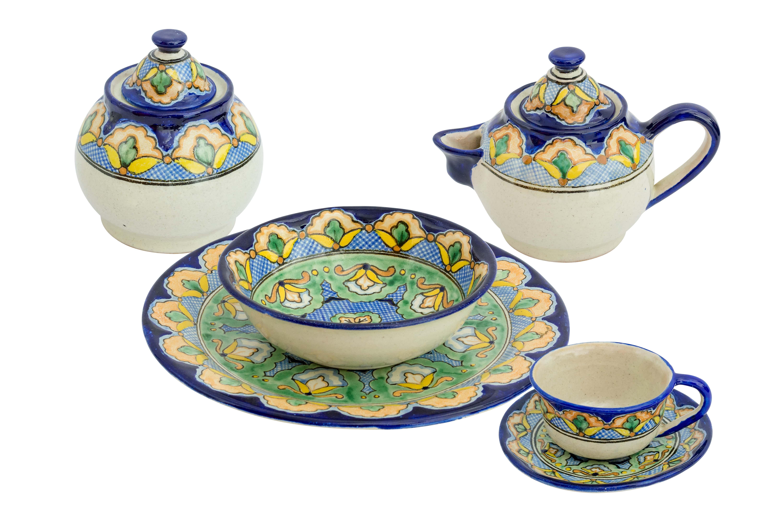 Uriarte Talavera Kaleidoscope Ceramic Dinnerware