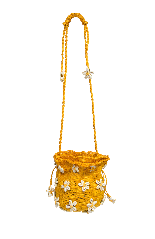 Florecita del Mar yellow backpack