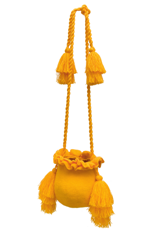 Backpack La Guapa yellow