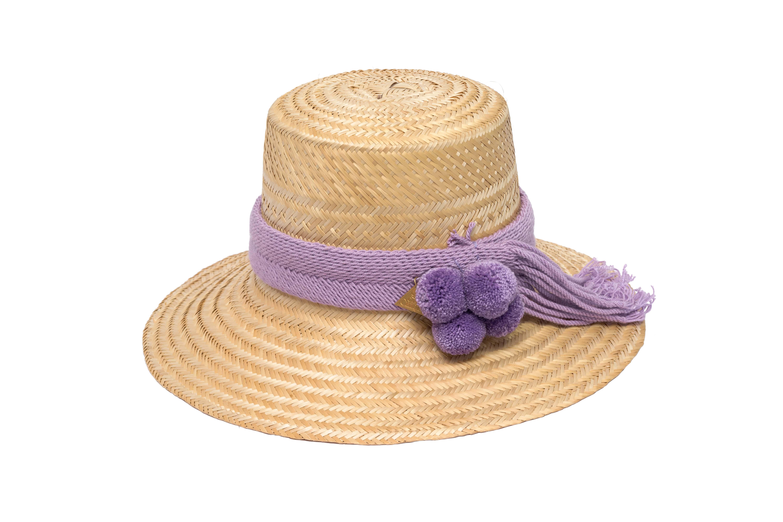 Sombrero Wayuu crudo