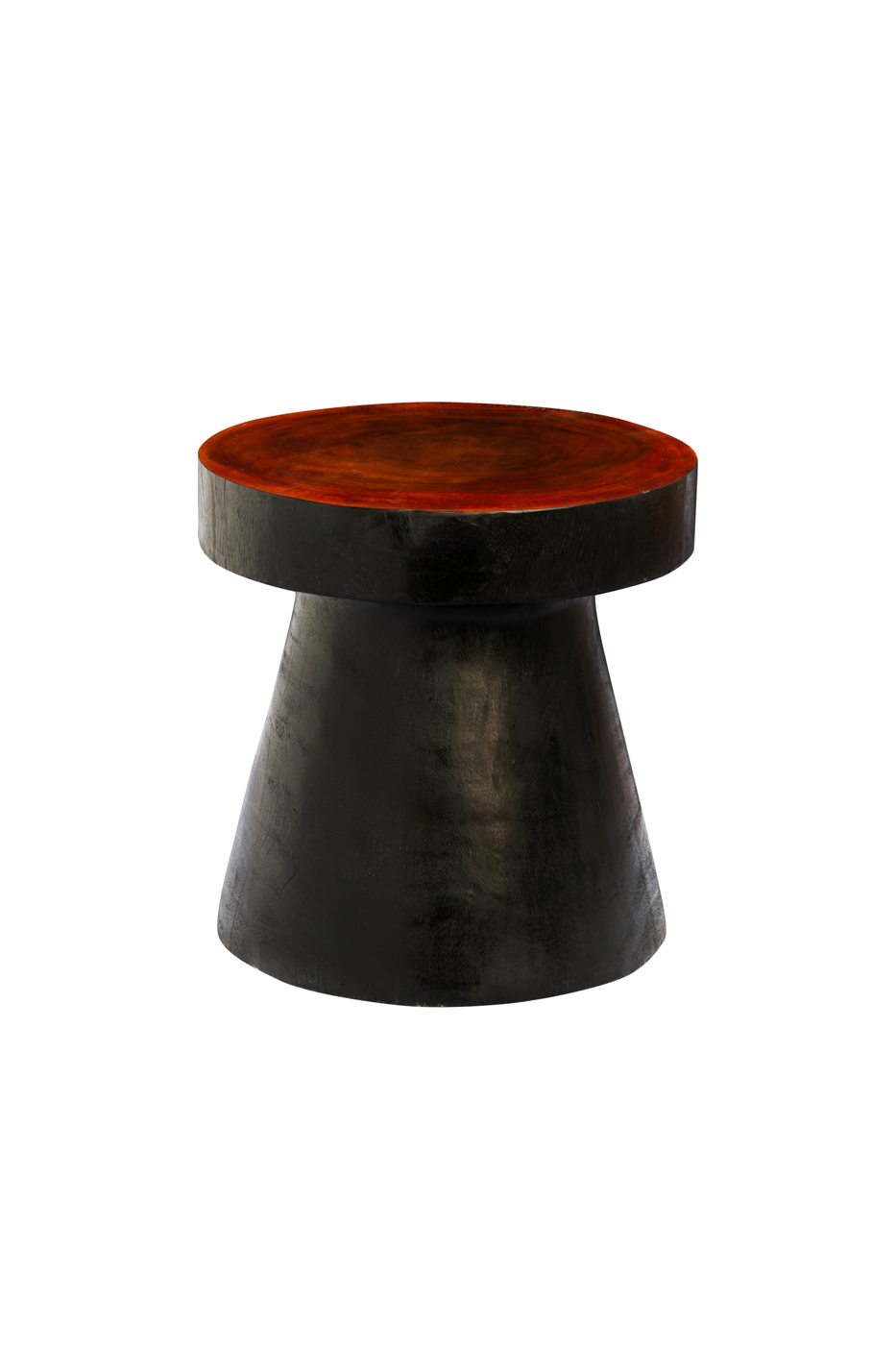 Mesa auxiliar en madera teka