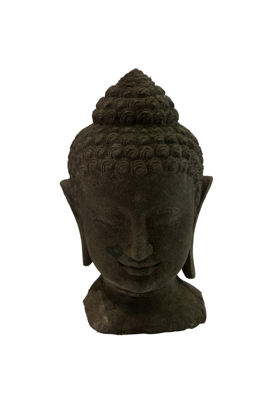 Stone Sculpture Buddha Head