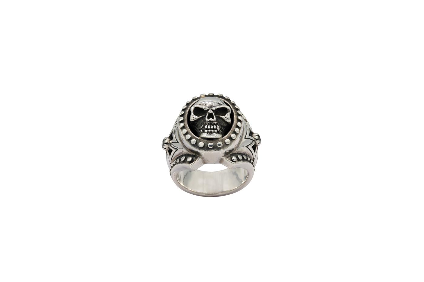 Harley-Davidson Skull Ring