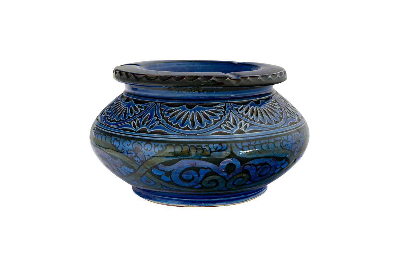 Moroccan carved ashtray
