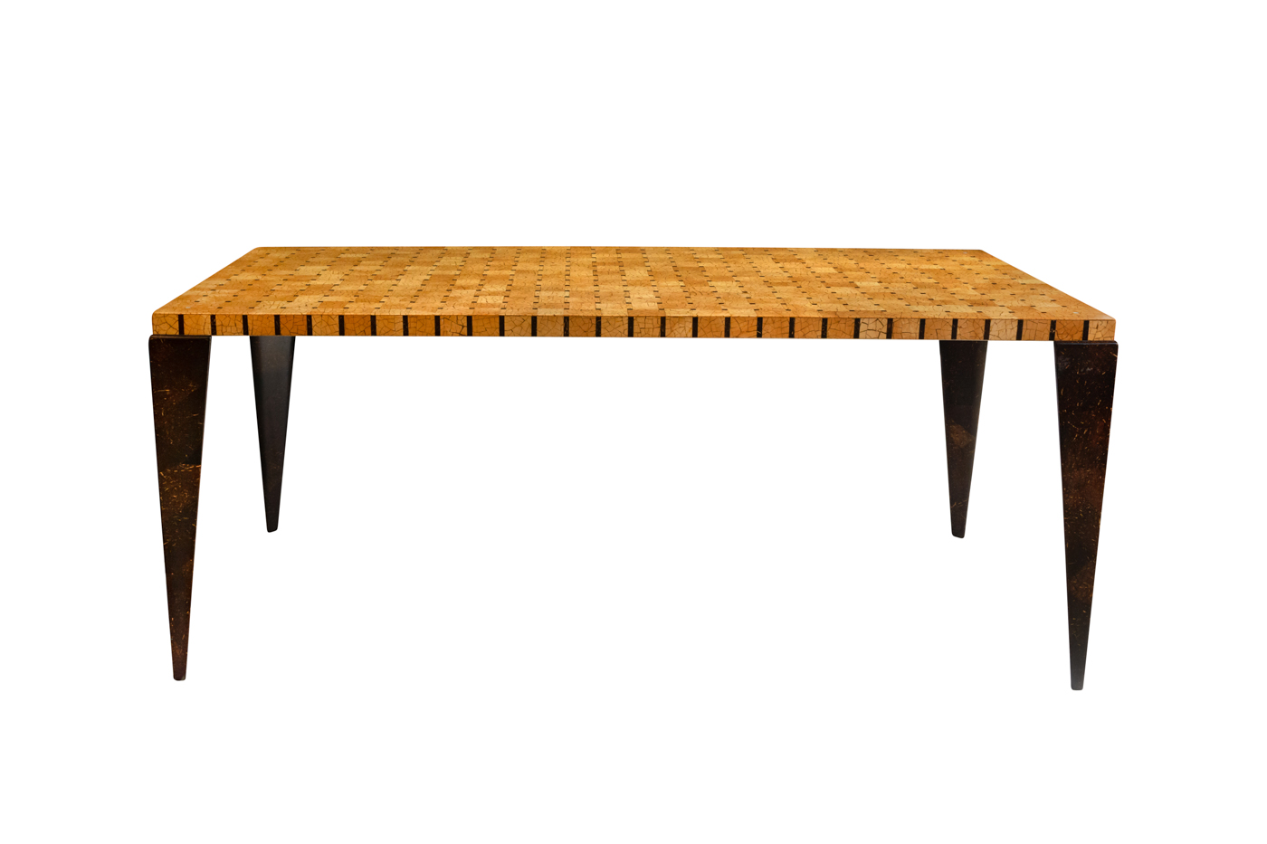 Dining table Bea in coconut bark