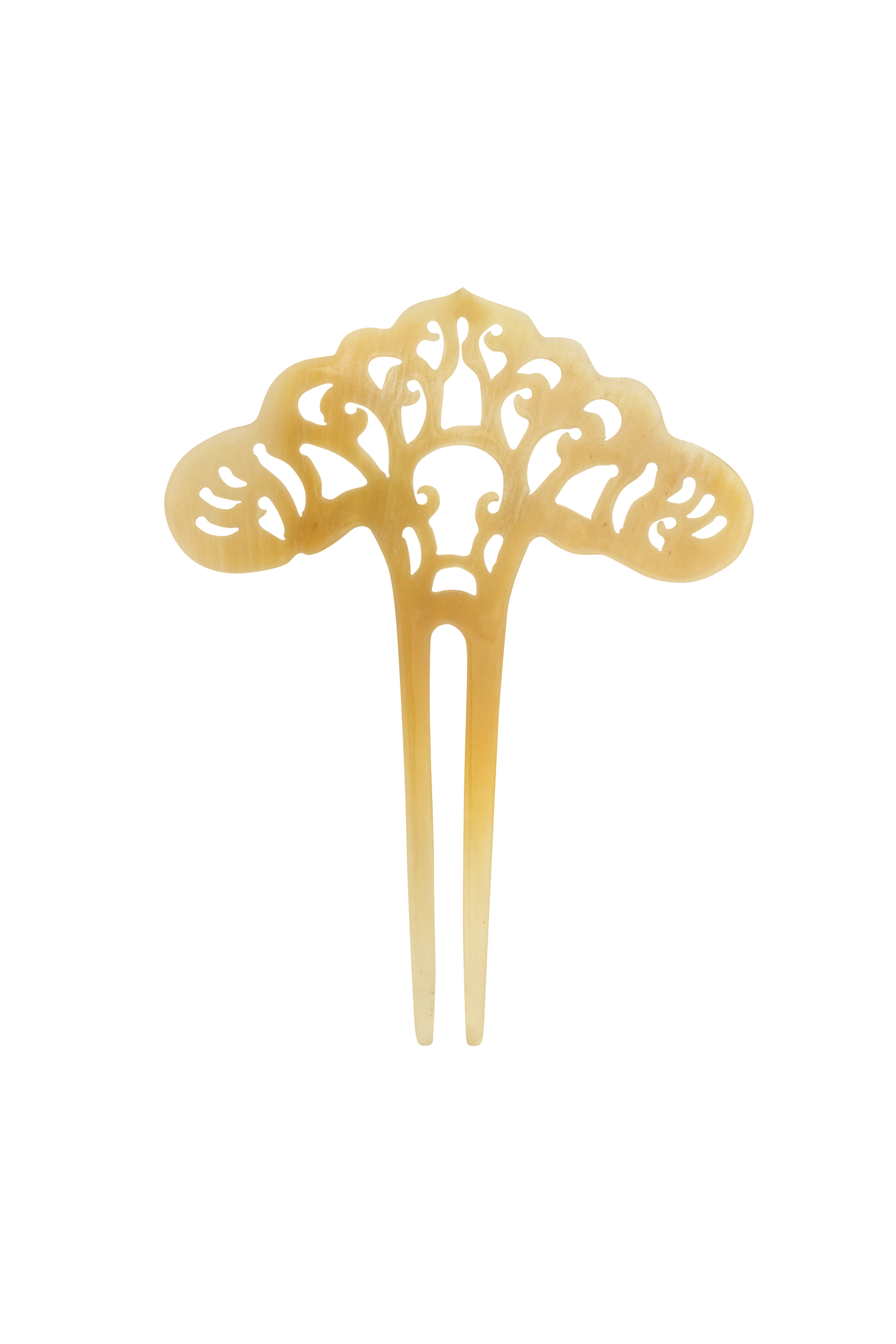 Hair comb made of carved bone