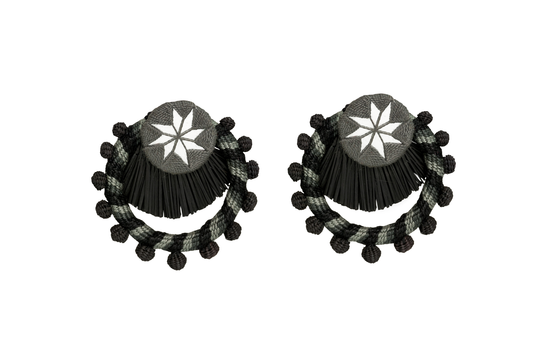Arete Flamenco negro