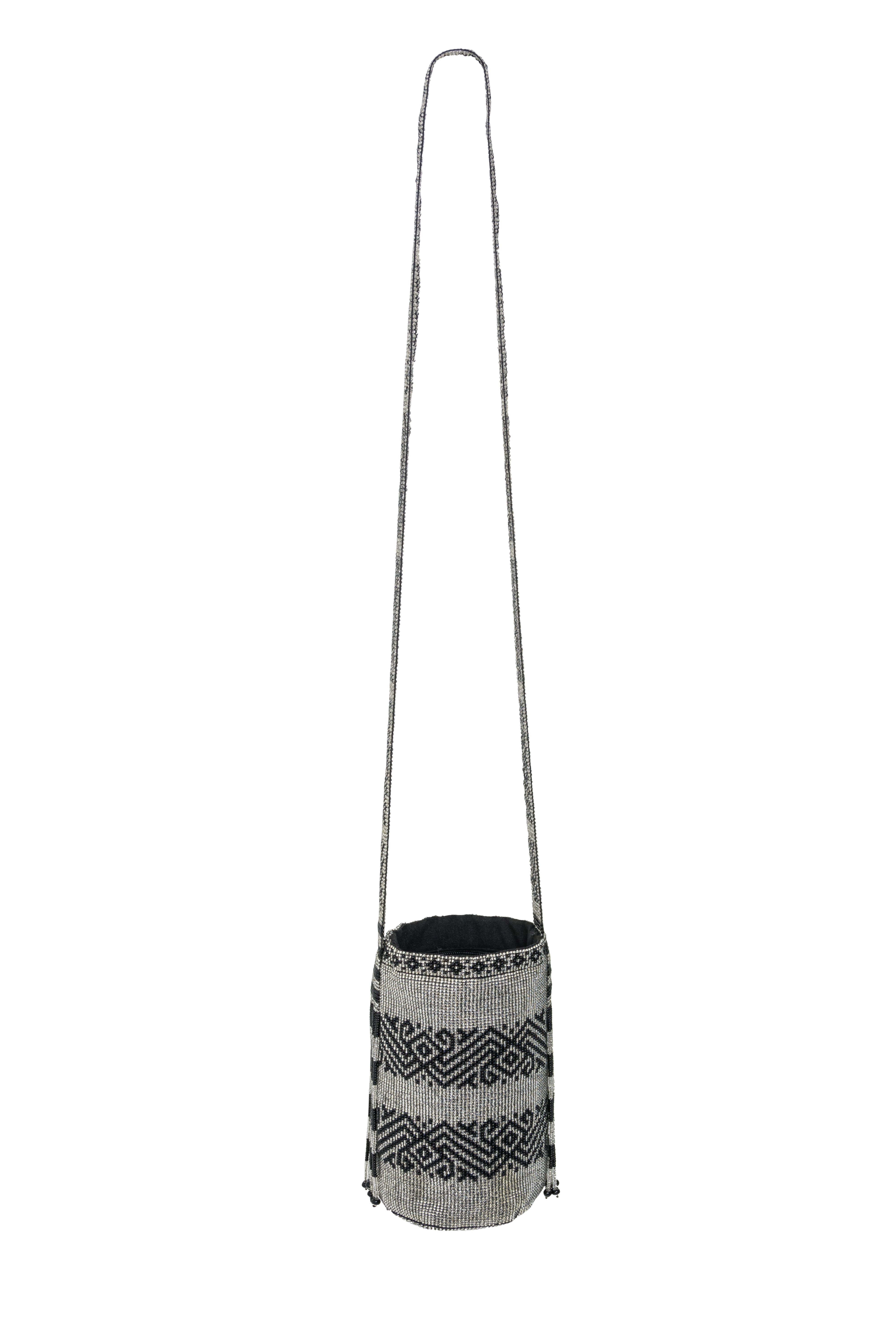 Inga backpack with silver beads