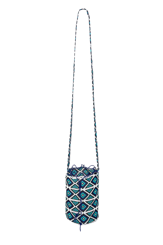 Emberá Katio handbag turquoise blue
