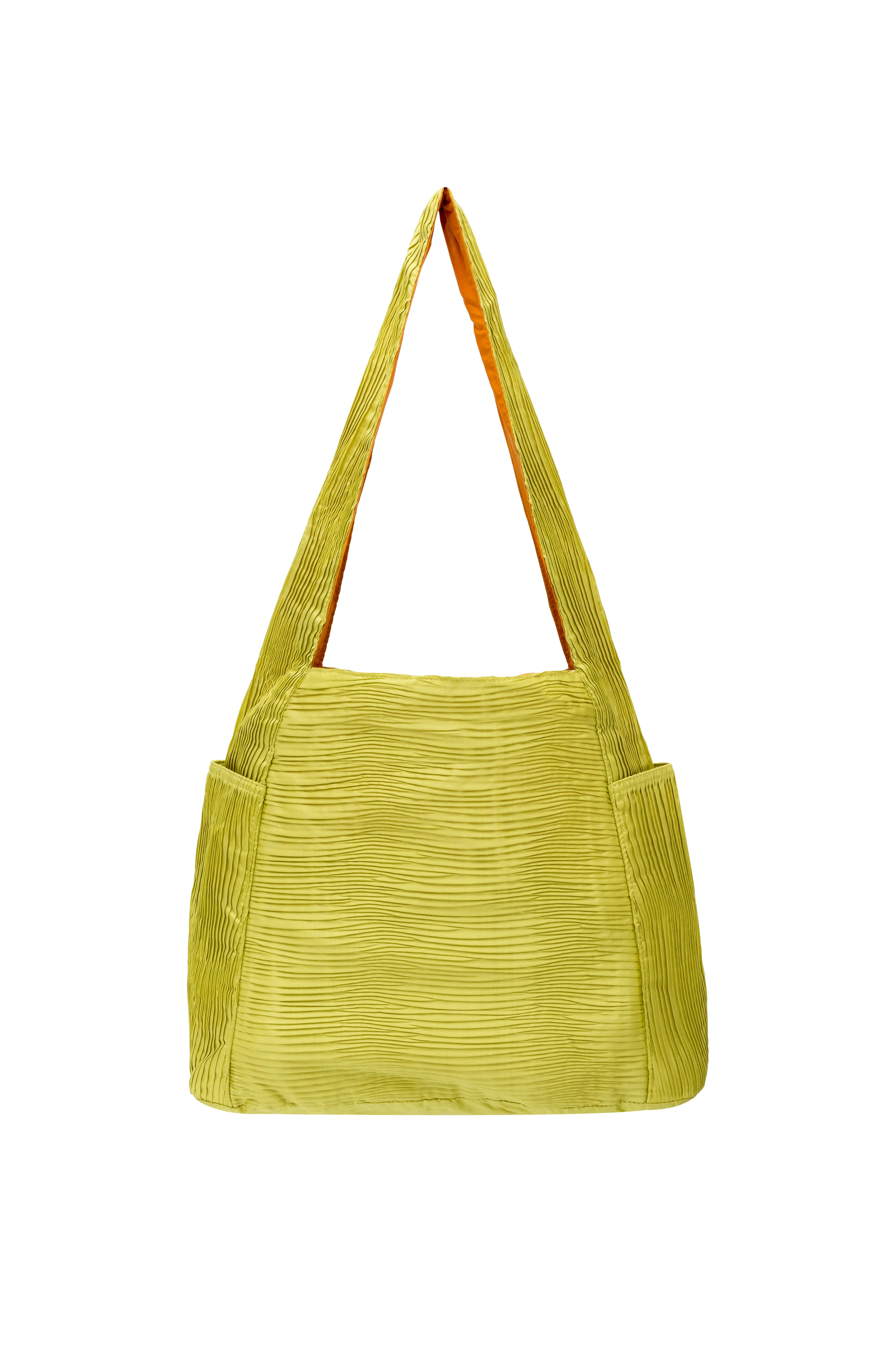 Bolso Jim Thompson plisado verde