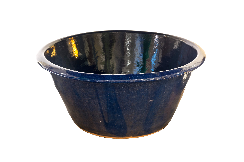 Apaxtle Mexicano en cerámica azul