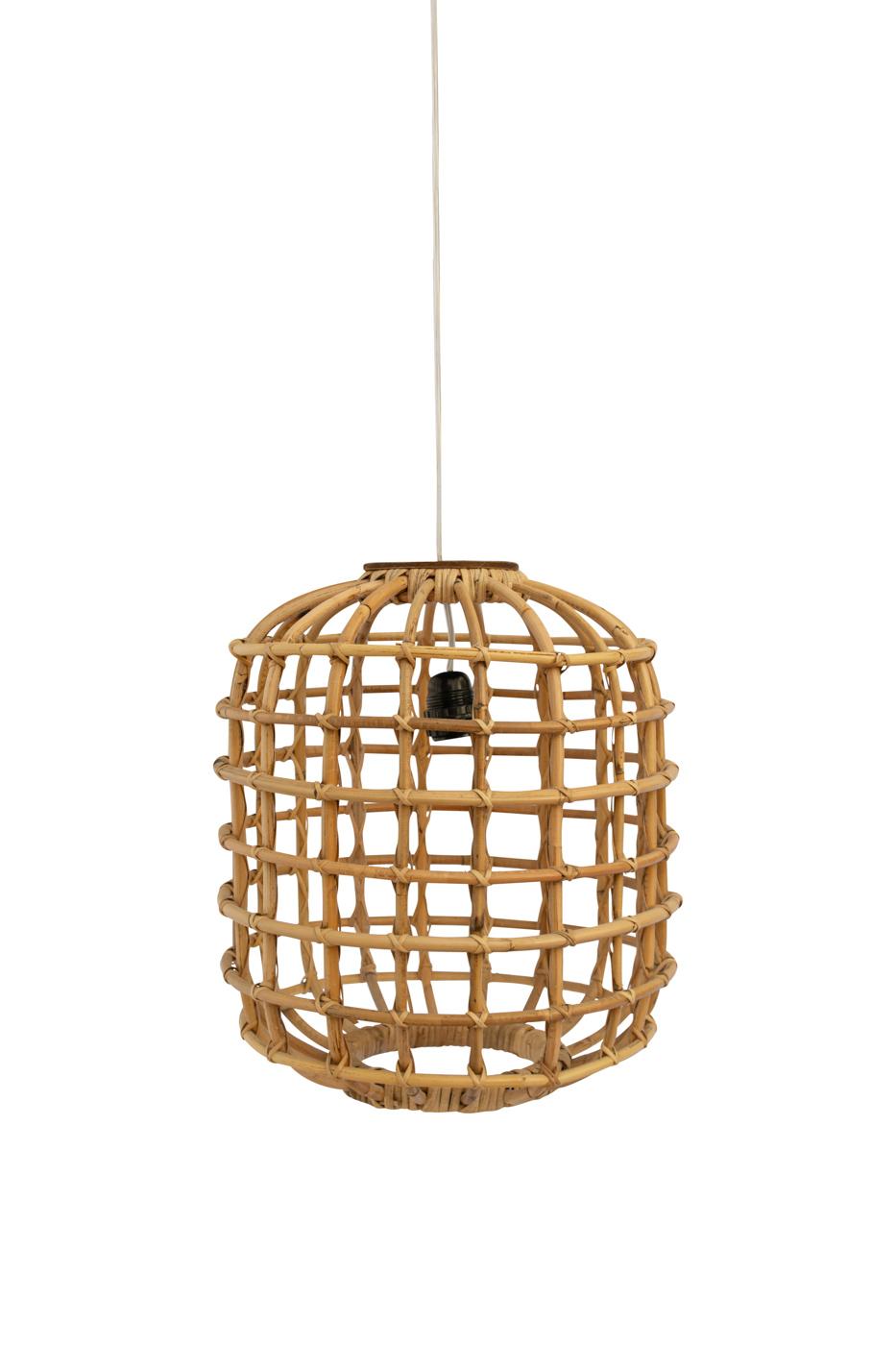 Lámpara colgante Portomax en bamboo, 40 Cm
