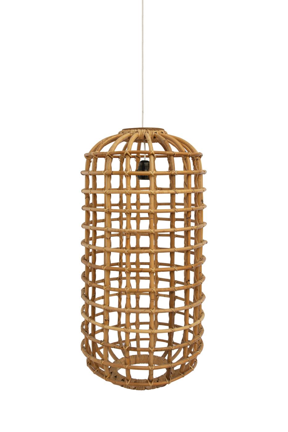 Lámpara colgante Portomax en bamboo , 72 Cm