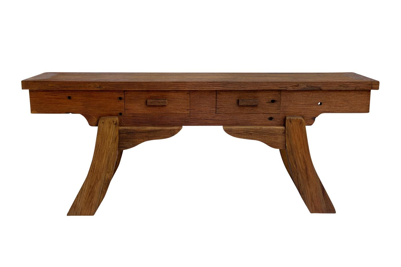 Balinese console in teak wood