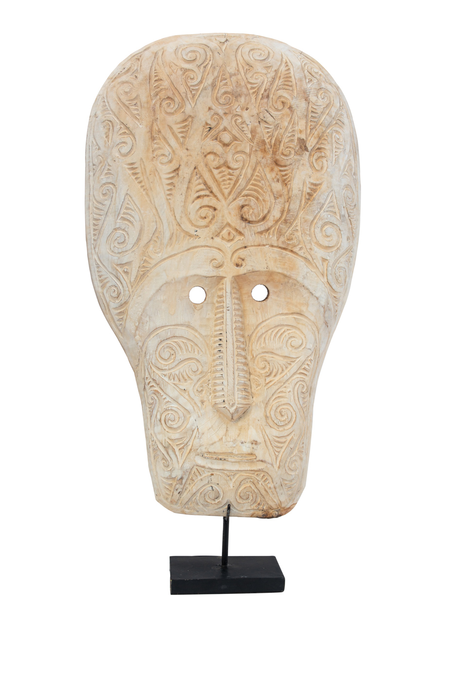 Mask carved in wood Timor