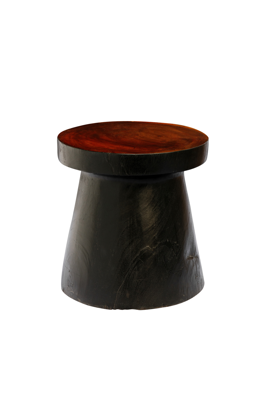 Teak wood side table