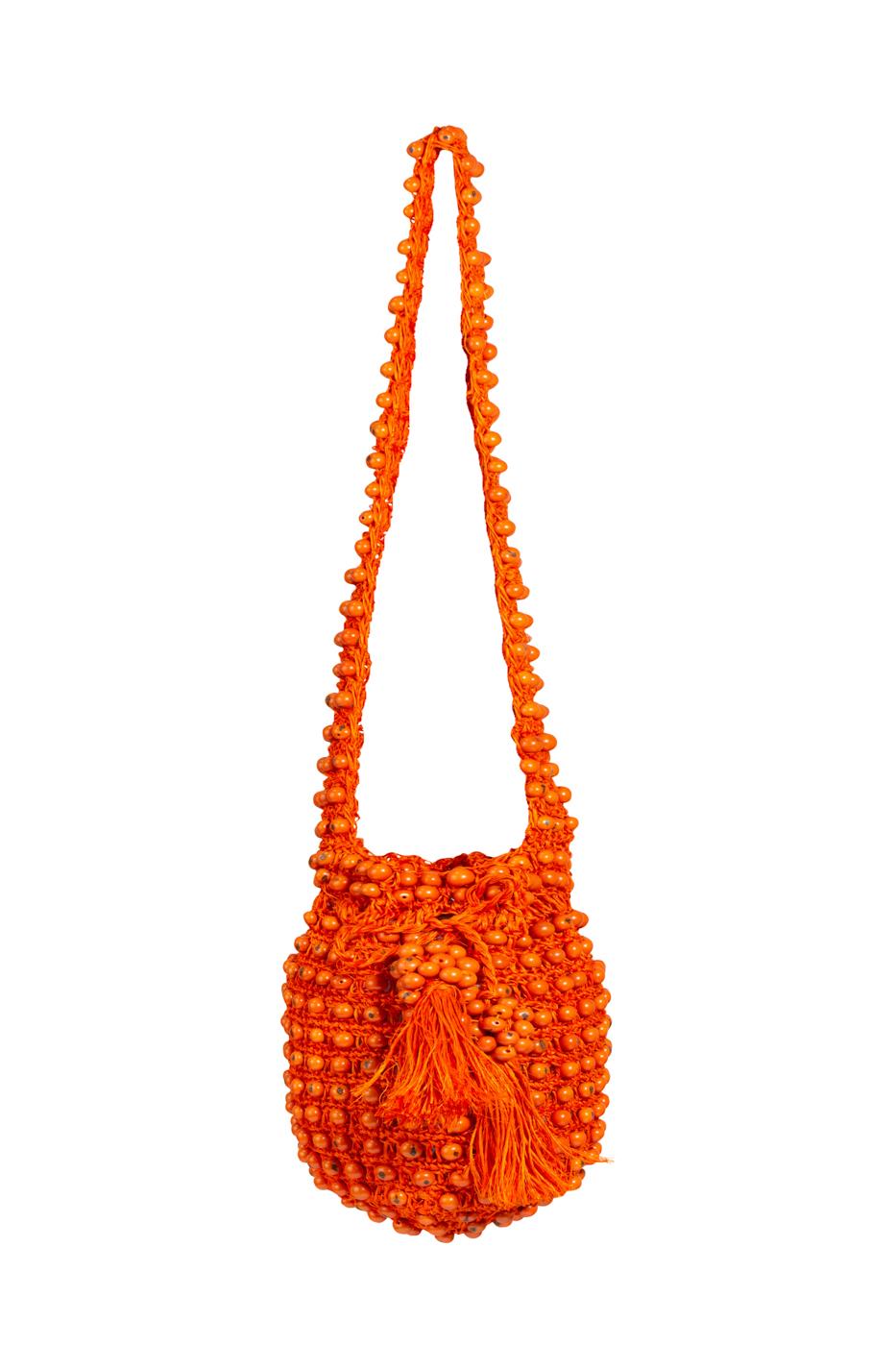 Backpack fique tagua orange