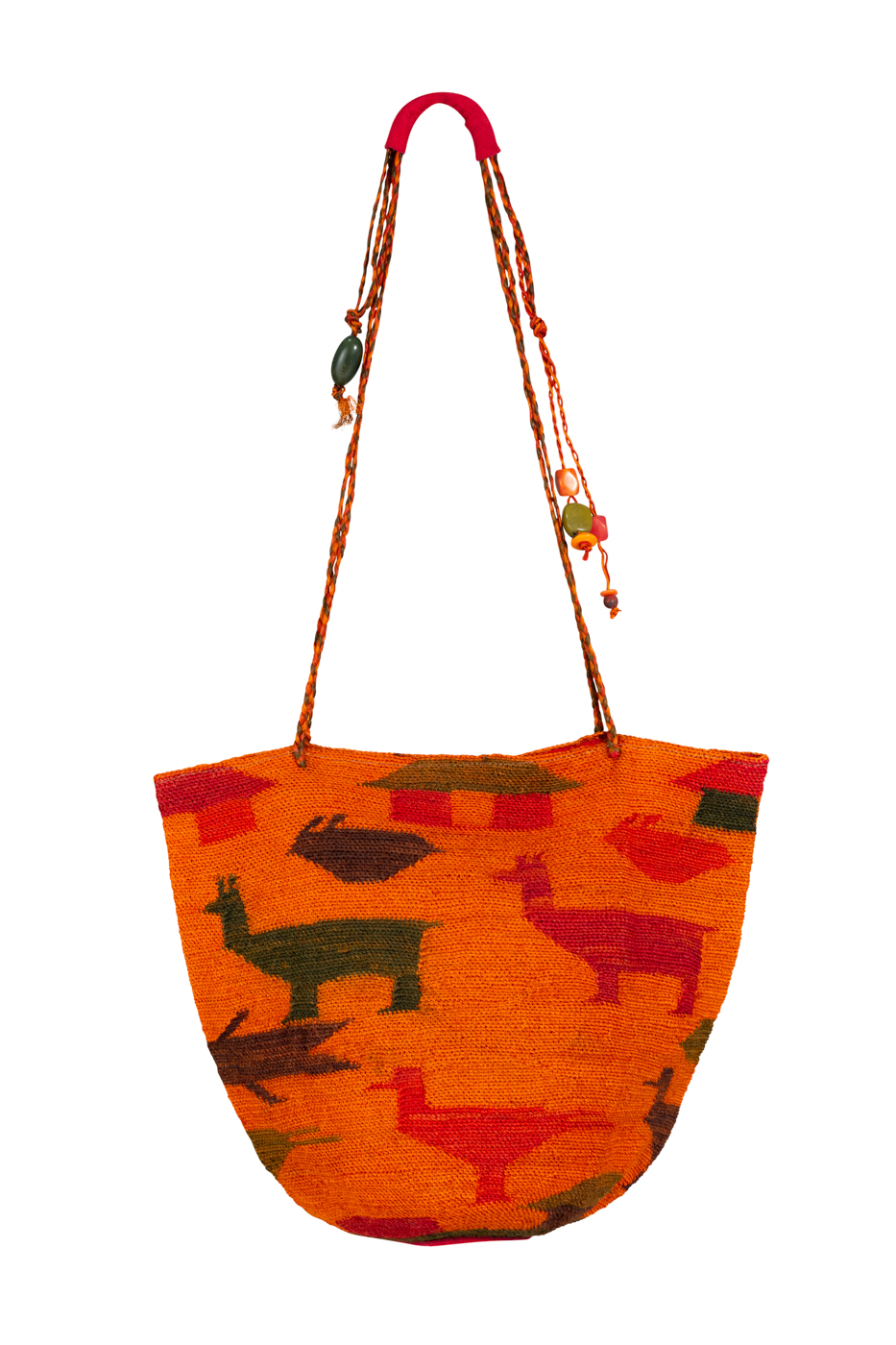 Mochila Shigra animales naranja