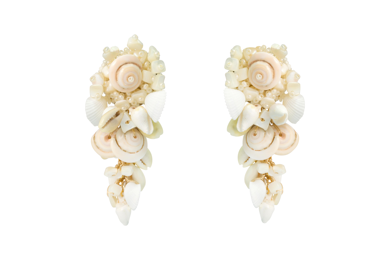 Natural Teardrop Earrings