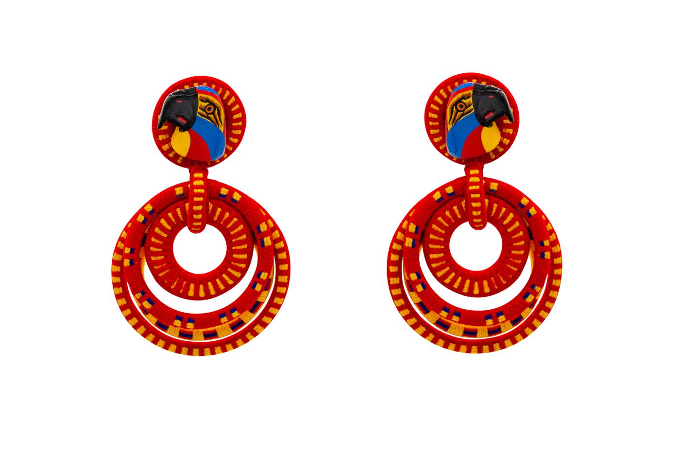Garabato earring doodle