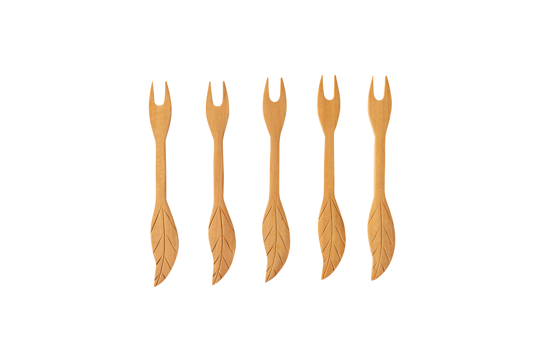 Set palitos de brocheta en madera
