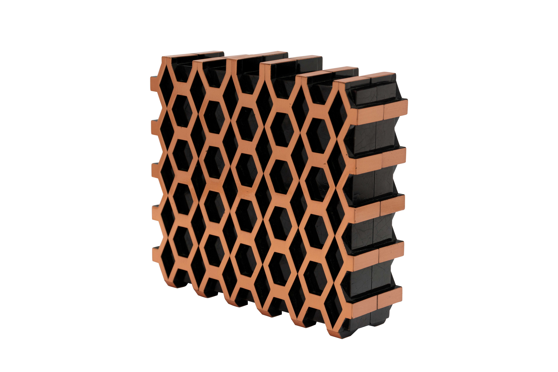 Clutch cobre Rubin