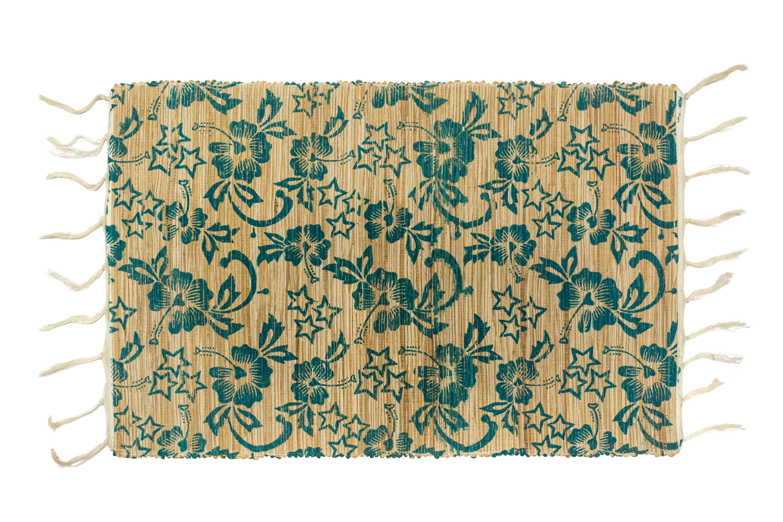 Individual rectangular bamboo floral
