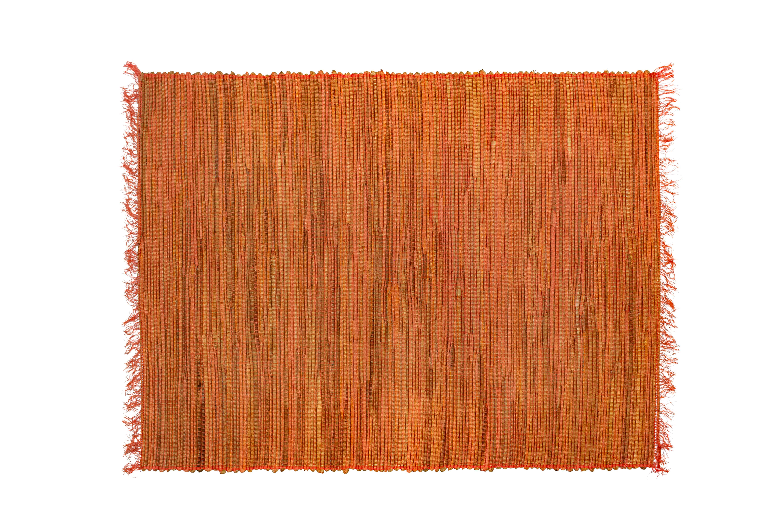 Individual rectangular bamboo naranja