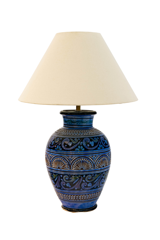 Lámpara de mesa Marroquí en cerámica